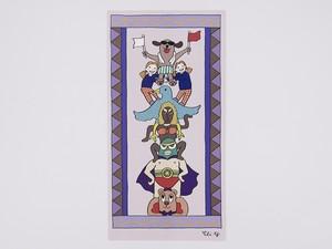 ポストカード「平和のためのトーテムポール」