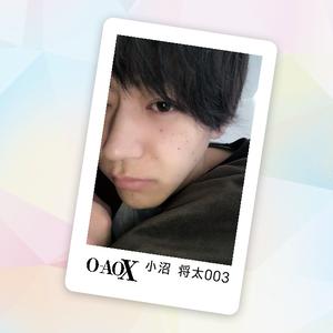 男劇団 青山表参道X 小沼将太 3rd Fan Event 公式FANDA CARD