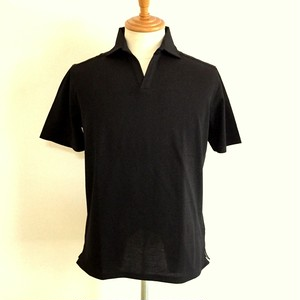 Ripple Skipper Polo Shirts Black