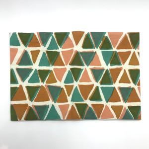 【MIHANI工房】ブックカバー文庫サイズ「triangles」②