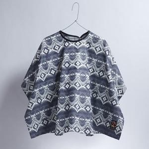Native pattern cape