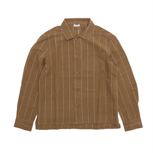 SEEALL BIG POCKET SHIRT(CAMEL)