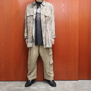RED HEAD l/s rayon overall pattern shirts