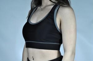 レディース パーフォーム 6ストリング シグネイチャーブラ - ブラック (Scal Clothing)