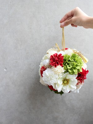 【Rental】No4 Wasou ball bouquet