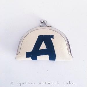 持ち運べるアート|Alphabet|クラッチバック A
