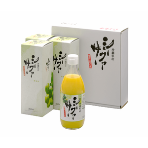 シークヮーサーストレート果汁 360ml×3本