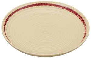 一本線パン皿 白塗