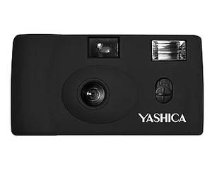 ヤシカ YASHICA MF-1 Snapshot Art Camera ブラック (スナップショットアートフィルムカメラ フラッシュ付き)