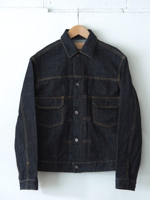FUJITO Denim Jacket 2 Indigo Blue