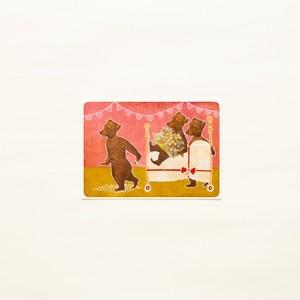 Goldilocks's Birthday postcard