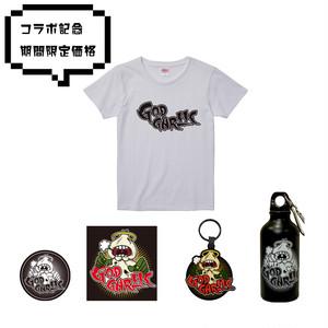 コラボ記念6点セット:GOD GARLLERYC T-shirt #01