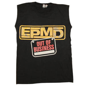 """EPMD / Out Of Business"" Vintage Rap Tee Used"