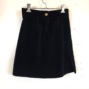 Vivienne Westwood red label velour skirt
