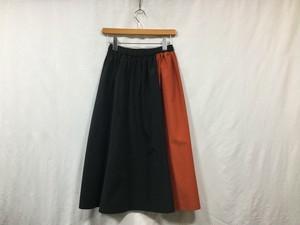 """semoh """" Womens bi-color skirt """" Black"""