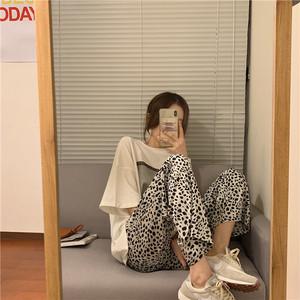 レオパードカジュアルパンツ  【leopard casual pants】