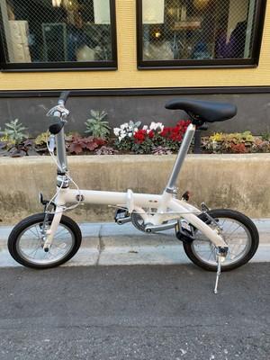 【鷲頭様専用】FIAT 軽量アルミ14インチ折りたたみ自転車