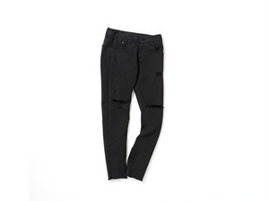 Straight Black Crush-Pants (JMS1910-017 )