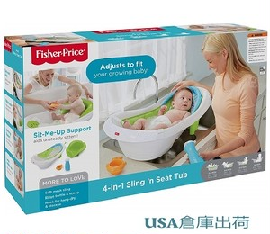 BestonStyle ベビーbathtub Fisher-Price 4-in-1 Sling N Seat Tub by Fisher-Price  USA No.1ベストセラー商品
