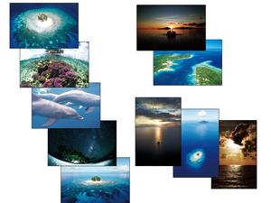 ポストカード「チュークの島々」10枚セット
