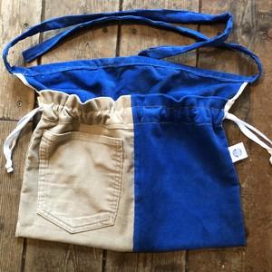 3-Way Red Cross Bag, Courduroy No.5