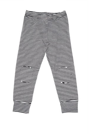 MINGO. Legging B/W stripes