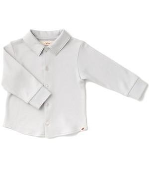 カットソーシャツ / ロシアンブルー / 80サイズ