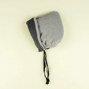 【20AW】POPELIN ポぺリン knitted baby bonnet [6-12m/12-24m]リバーシブルボンネット ニット帽子
