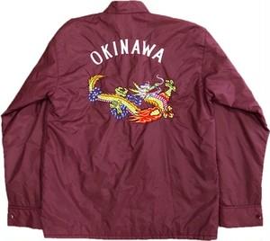 70's TOGUCHI OKINAWA刺繍 Nylon Jacket