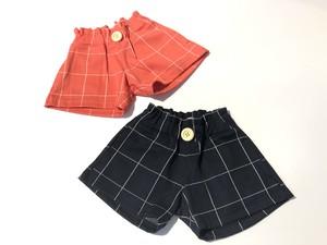 【20SS】ゾジオ(ZOZIO) Check short pants [L]
