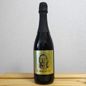 安彦考真選手記念ボトル スパークリングワイン 赤