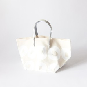 how to live - Dice Bag Mini Pair Handle ダイスバッグ - Ecru White