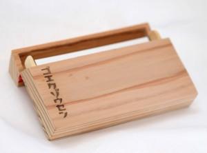 木製カードケース 名刺入れ
