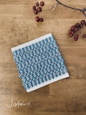 手織りミニマット ターコイズ