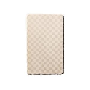 【手漉き和紙〈市松こがね〉】4号サイズ 和紙名刺 / メッセージカード