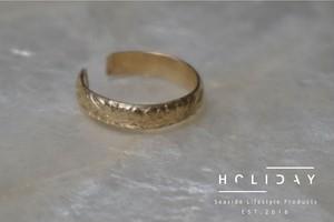 Hawaiian pattern HOLIDAY ring ▶14kgf