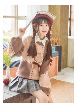 【AW・秋冬】チョコクッキー プルオーバー