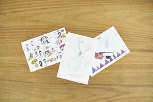 童話ポストカード
