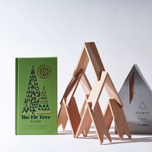 CHRISTMAS GIFT / 絵本「モミの木」&more trees「TSUMIKI」7piece