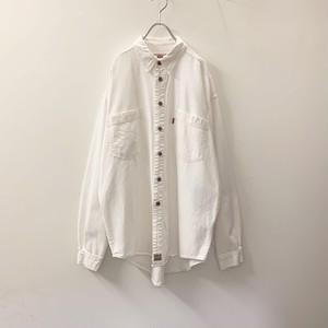 Levi's コットンシャツ ホワイト size L メンズ 古着