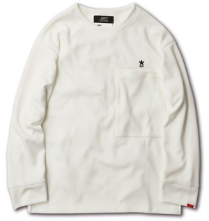 "SAY! / セイ!|  "" SMOOTH BIG L/S TEE "" - White"