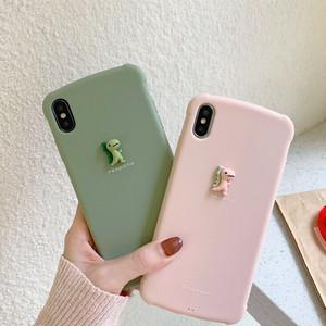 【小物】立体恐竜iphoneX/XS/XR/XsMaxiphone7/8/7p/8plus6/6sスマホケース