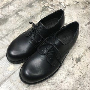 【PADRONE HIGH STANDARD LINE】 DERBY PLAIN TOE SHOES