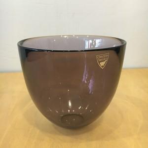"""スウェーデン Orrefors/ オレフォス """"Pastillo"""" glass bowl Lena Bergstrom"""
