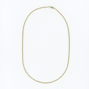 【14K-3-1】18inch 14K gold rope chain