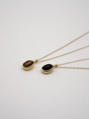 <2/21発売>oval necklace gold