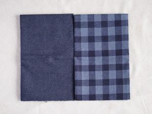 Moda Yuletide Gatherings Flannels グレーブラック系カットクロスセット2