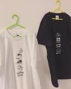 """tricolor 10周年 """"キネン"""" Tシャツ"""
