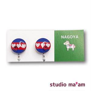 ■NAGOYA-11   イヤリング。まる。〜ピアス変更可〜