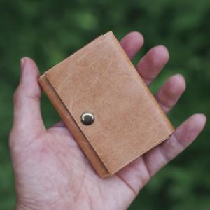 小さく包む財布